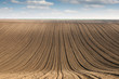 plowed field farmland rural landscape agriculture