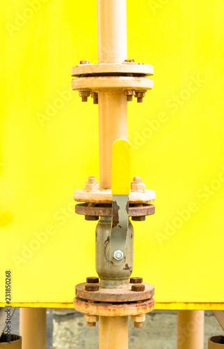 Leinwandbild Motiv gas equipment at home