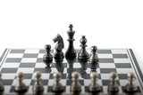 Chess business concept, leader teamwork & success - 231856400