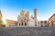 Leinwanddruck Bild - Siena Cathedral (Duomo di Siena) on sunrise, Tuscany, Italy