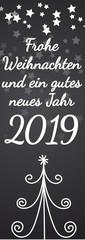 Frohe Weihnachten und ein gutes neues Jahr 2019 © VRD