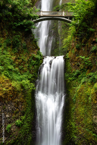 Multnomah Falls in Columbia River Gorge, Oregon, USA - 231871275