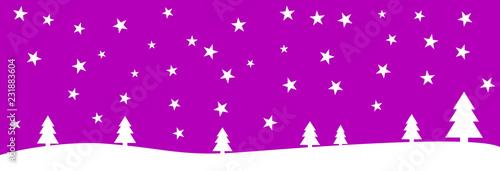 Szeroki purpurowy bożego narodzenia tło z gwiazdami