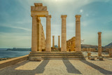 Rhodes Lindos Acropolis Temple Ruins