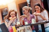 Friends enjoying in cafe - 231893003