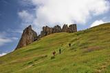 Mountain landscape from the northern region of Azerbaijan, Siazan. - 231895484