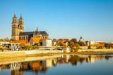Magdeburg, Magdeburger Dom an der Elbe - 231907485