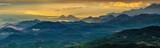 panorama of mountains surrounding Skadar Lake, Montenegro - 231910620