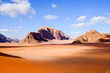 canvas print picture - Wadi Rum,  Jordan