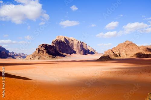 canvas print picture Wadi Rum,  Jordan