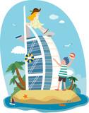 Attractions of Dubai