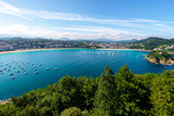 Bay of San Sebastian from Urgull Mountain, Basque Country, Spain - 231922440