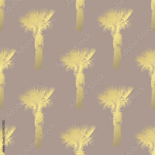 fototapeta na ścianę golden seamless pattern