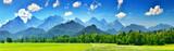 Panorama of summer mountains - 231928030