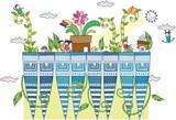 plants and children - 231933610