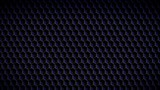 Seamless animated abstract  background. Dark metallic isometric cubes pattern with slow animation wave - 231934897