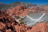 jujuy argentina mountains  - 231937872
