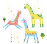 Close-up of giraffes - 231939025