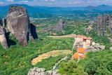 Holy Monastery of Roussanou in Meteora monasteries, Greece - 231944401