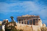 Athens, Parthenon famous ancient greek temple