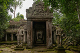 Temple Doorway - Cambodia - 231986026