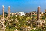 romans ruins  Tyre Sur in South Lebanon Middle east - 231994857