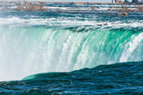 View at Niagara Falls from Canadian side at summer time
