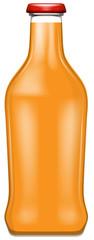 A bottle of oranage juice © brgfx