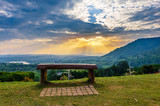 View from Khao Kho and great mountain view as background at the highland - 232006462