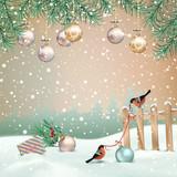 Vector Christmas Landscape - 232016419