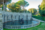 villa lante,  fountain of Perseo - 232029662
