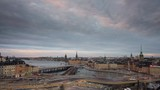 Stunning day to night timelapse of central Stockholm - 232043608