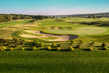 background landscape golf course