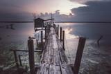 tramonto con casetta del pescatore - 232057472