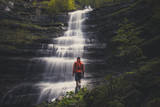ammirare la cascata del piscino © GMT Photography