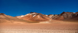 Panoramic view of sunshine Bolivian desert - 232063808