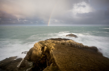 Küste in der Bretagne Frankreich  © Volker Loche
