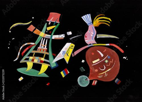 fototapeta na ścianę On Kandinsky 's motives