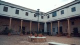 Typical spanish courtyard - 232079211