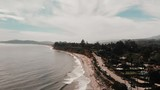Butterfly Beach on a wonderful day. Summer vibes. Perfect for companies. Filmed by magic air drone. - 232080660