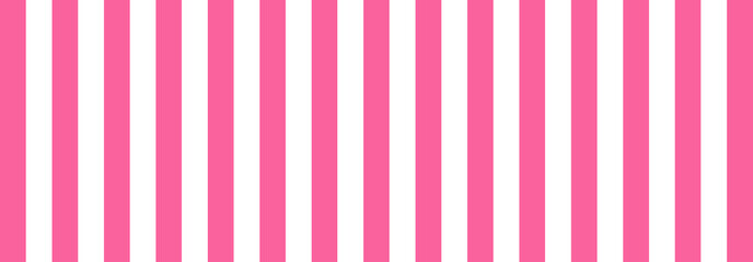 Pink Striped Banner