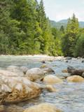 Felsen im Fluss - 232096262