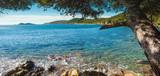 Mittelmeer Bucht mit Baum - 232096438
