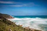 Long exposure of beautiful Norman beach in Wilsons promontory national park, victoria, Australia - 232101042