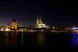 Cathedral of Cologne by Night - 232113844