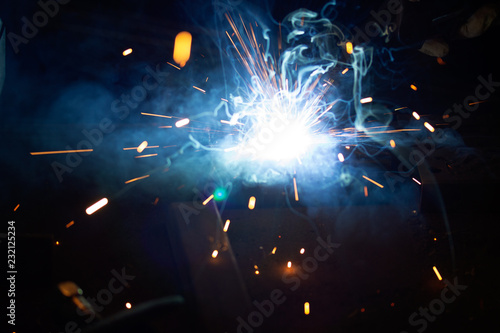 Welding with co2
