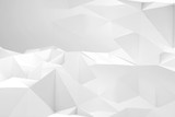 Abstract white digital background texture 3d - 232126216