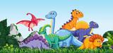 Wiele dinozaurów w przyrodzie
