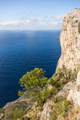 Incredible Mallorca island view from Cap de Fermentor © AlexRosu