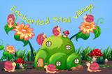 Enchanted snail village template - 232147483